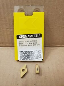 New Full Pack 2 Are Show Kennametal Carbide Inserts Dnmg 432 Kc850