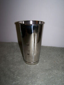 Waring Commercial Drink Mixer Replacement Cup 28 Ounce Stainless Steel Mc30