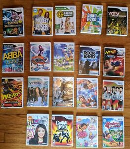 Nintendo Wii Games. Choose from Big Selection!