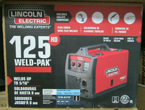 Lincoln Electric K2513 1 Weld Pak 125hd 12102 New Sealed
