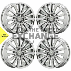 19 Lexus Ls460 Pvd Chrome Wheels Rims Factory Oem Set 74285 Exchange