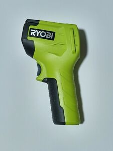 Ryobi Infrared Thermometer Digital Lcd Display Laser Guide Fahrenheit Celsius