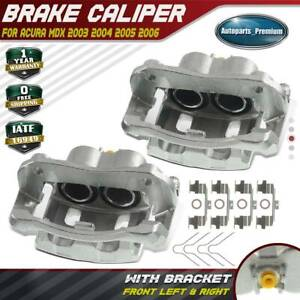 Disc Brake Caliper With Bracket For Acura Mdx 2003 2006 3 5l Front Left Right