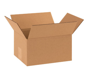 25 10x8x6 Cardboard Paper Boxes Mailing Packing Shipping Box Corrugated Carton i