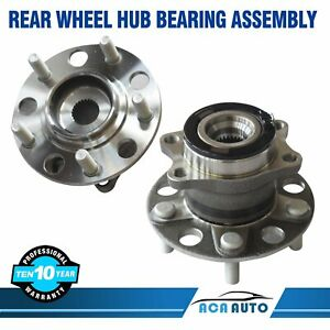 2 Rear Wheel Bearing Hub Assembly For Jeep Compass Patriot Awd 4wd 2007 2016