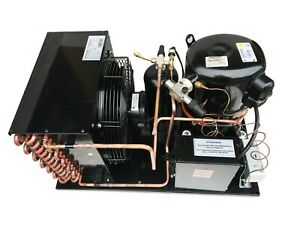 Outdoor Qt Awa2440zxd Condensing Unit 1 Hp Low Temp R404a 220v 1ph usa
