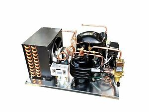 Combo Air water Condensing Unit 1 Hp Low Temp R404a 220v embraco Nt2180gkv2
