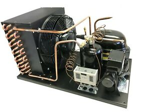 New Outdoor Condensing Unit 1 Hp Low Temp R404a 220v embraco Nt2180gkv2