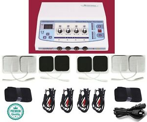 Professional Home Use 4 Channel Electrotherapy Machine Pain Pulse Massager Unit