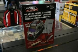 Lincoln Electric Welding Helmet And Accessories New