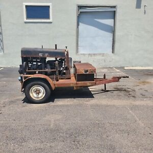 Lincoln Sa200 Welding Machine Engine Needs Rebuild Trailer Included