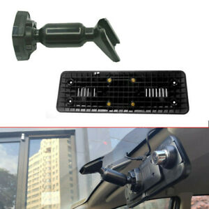 1x Car Interior Rear View Mirror Back Plate Panel Mounting Bracket For Car Dvr