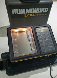 Humminbird LCR 4000 Portable Fishfinder Sonar w/ Case No Transducer