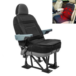 12v Auto Car Heated Front Seat Cushion Cover Heating Heater Warmer Pad Winter Us