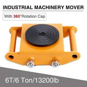 Machinery Mover Machine Dolly Skate Machinery Roller Mover Cargo Trolley 6t