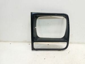 1998 Jeep Cherokee Drivers Left Headlight Bezel shiny Black