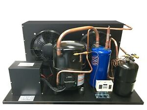 Outdoor Qt Ava2515zxn Condensing Unit 3 1 4 Hp Low Temp R404a 220v 1ph usa