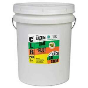 Clr Pro Calcium Lime And Rust Remover 5gal Pail 078291210057