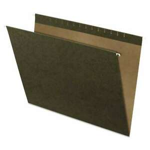 Pendaflex X ray Hanging File Folders Standard Green 25 box 078787415805
