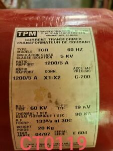 Tpm Current Transformer Ratio 1200 5 Type Tcr