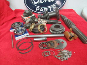 53 55 Ford F100 Pickup Complete 3 Speed Gear Set New