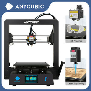 New Anycubic Mega Pro 3d Printer Laser Engraving Printing Versatile 2 in 1 Us