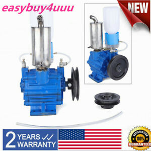 Electric Milking Machine Vacuum Impulse Pump Cast Iron For Cow Goat Milker