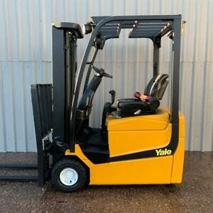 Yale Erp13vc Used 3 Wheel Electric Forklift 2899