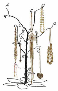 Wire Jewelry Tree Earrings Bendable 24 High Counter Top Retail Display Table