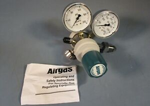 Airgas Y12 215d Two Stage Gas Regulator Nwob