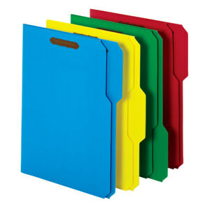 Office Depot Brand Letter Size 1 3 Tab File Folders With 2 Fasteners 50 pack