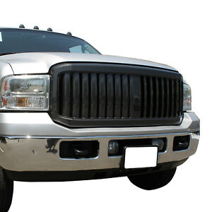 Full Upper Packaged Grill Front Hood Replacement Grille Fit 05 07 Ford F250