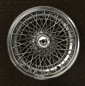 1986 To 1996 Chevy Caprice 15 Inch Locking Wire Spoke Hubcap Wheel Cover L k