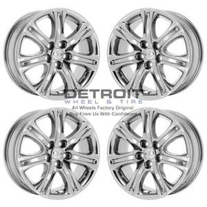18 Lexus Ls460 Pvd Bright Chrome Wheels H Rims Factory Oem 74220 Exchange 20
