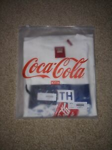Kith X Coca Cola Ice Vintage Shirt White Size L In Hand