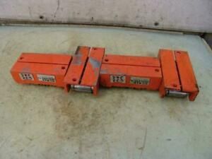 Hilman Rollers Machinery Movers 20 Ton Set 5 Ton Each Works Great 3