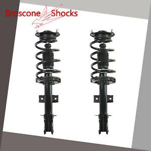 For 2010 2011 2012 Hyundai Santa Fe Front Pair Complete Shocks Struts