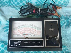 Sears Vintage Engine Analyzer Model 161 2161 Excellent Condition