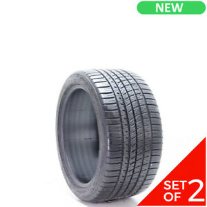 Set Of 2 New 285 35zr18 Michelin Pilot Sport A s 3 97y 9 32
