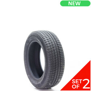 Set Of 2 New 215 60r17 Michelin X ice Xi3 96t 10 32