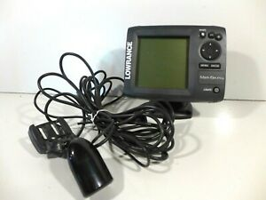 Lowrance Mark-5x PRO Fishfinder GPS Chartplotter with Transducer - Tested