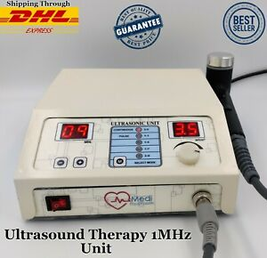New Original Ultrasound Ultrasonic Therapy 1mhz Machine For Pain Relief Therapy