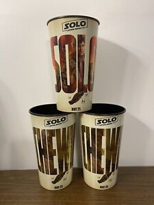 Solo A Star Wars Story & Coca-Cola 44-ounce Movie Theater Cups