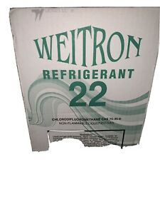 Refrigerant R22 30r22 30lbs Cylinder Freon 30lb Never Been Used Or Open