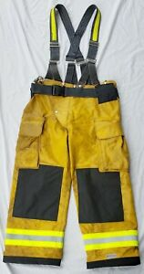 Pleather Turnout Pants Trousers Bunker Gear Collector s Item Bodyguard