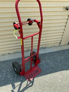 Handtruck 4 Wheel Convertible Used Milwaukee Red Hand Truck Dolly