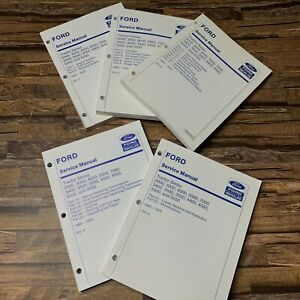 Ford Tractor 2000 3000 4000 5000 7000 Series Service Manual 1965 1975 Vol 1 5
