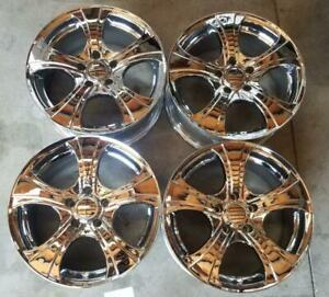 Panther Wheels Rims 17 Inch 5x114 3 18mm Chrome