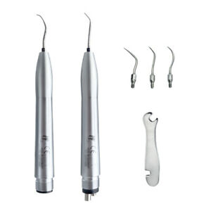 Kavo Style Dental Hygienist Ultrasonic Air Perio Scaler Handpiece 2 4 Hole 3tips