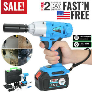 Electric Brushless Cordless Impact Wrench 1 2 16800mah Drill High Torque Tool